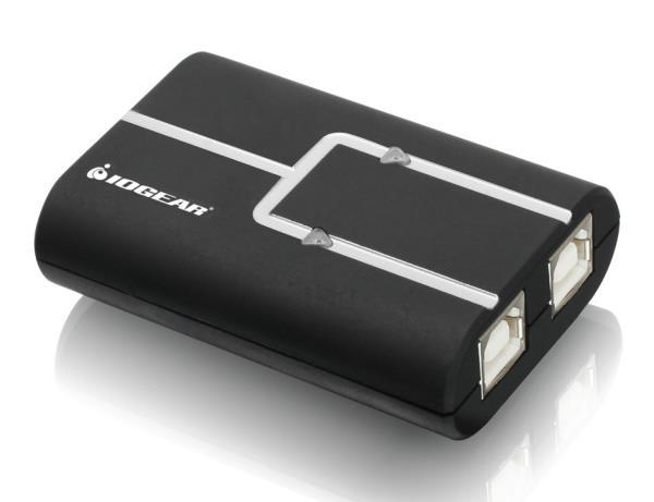 IOGEAR 2-Port USB 2.0 Printer auto Sharing Switch GUB211 komutators