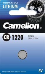 Camelion CR1220-1BB Blistera iepakojumā 1gb. Baterija