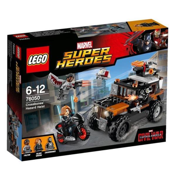 LEGO Confidential Captain America V29 76050 LEGO konstruktors