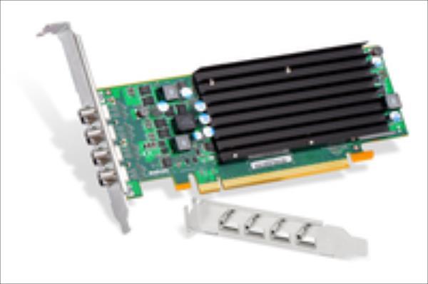 MATROX C420 2GB, Mini Display Port adapter cable, PCI-E x16 quad video card video karte