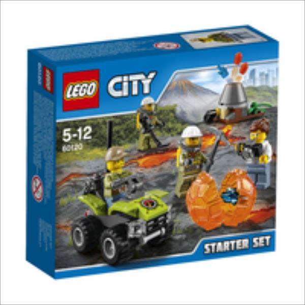 LEGO Volcano Starter Set V29  60120 LEGO konstruktors
