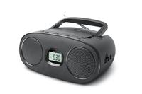 New-One RD312 Black, Radio CD/MP3 Player + USB, 3 W radio, radiopulksteņi