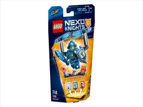 Lego Nexo Knights Clay 70330 konstruktors