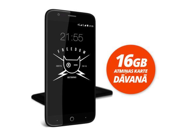 Just5 FREEDOM + 16GB atmiņas karte Dāvanā Mobilais Telefons