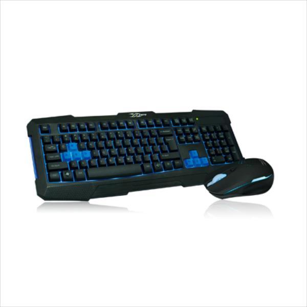 Vakoss X-K1760UK Spēļu klaviatūra ar apgaismojumu un peli 2400dpi ENG klaviatūra