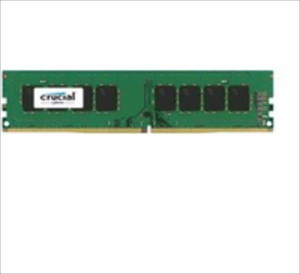 Crucial 8GB DDR4 UDIMM, NON-ECC, CL15, Single Ranked operatīvā atmiņa