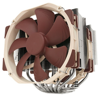 Noctua NH-D15 CPU-cooler - 140/140mm procesora dzesētājs, ventilators