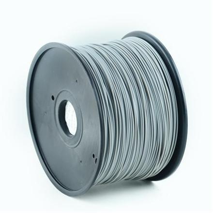 Gembird Filament ABS, 1.75mm, 1kg, grey (3DP-ABS1.75-01-GR) 3D printēšanas materiāls