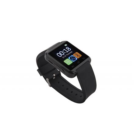 GoClever CHRONOS COLOUR 2 350 mAh, Bluetooth, Smart watche, Black, Touchscreen Viedais pulkstenis, smartwatch