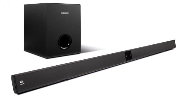 Exelway STG 1000 BSW Soundbar (PC PS4 PS3 Xbox 360 Xbox One Wii U) mājas kinozāle