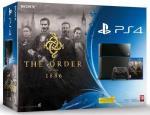Sony Playstation 4 500GB (PS4) + The Order 1886 spēļu konsole
