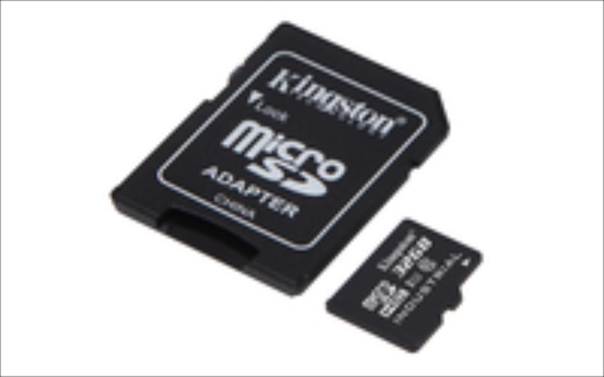 Kingston 32GB microSDHC UHS-I Class 10 Industrial Temp Card + SD Adapter atmiņas karte