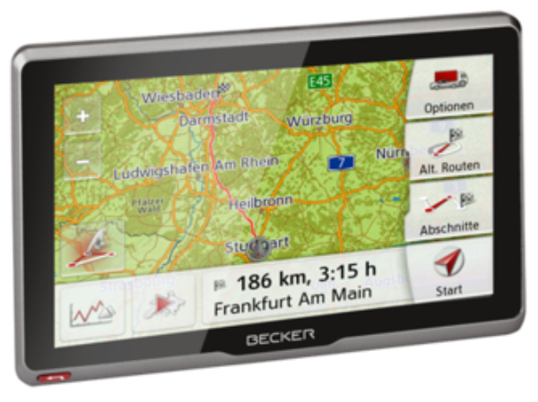 Becker active.7s EU PKW Navigācijas iekārta
