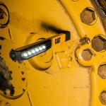 CAT 6 LED Worklight ( Yellow) kabatas lukturis