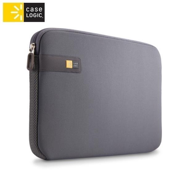 Case Logic LAPS111GR Universāls maks-kabata portatīvajam datoram līdz 11.6 collām Pelēka portatīvo datoru soma, apvalks