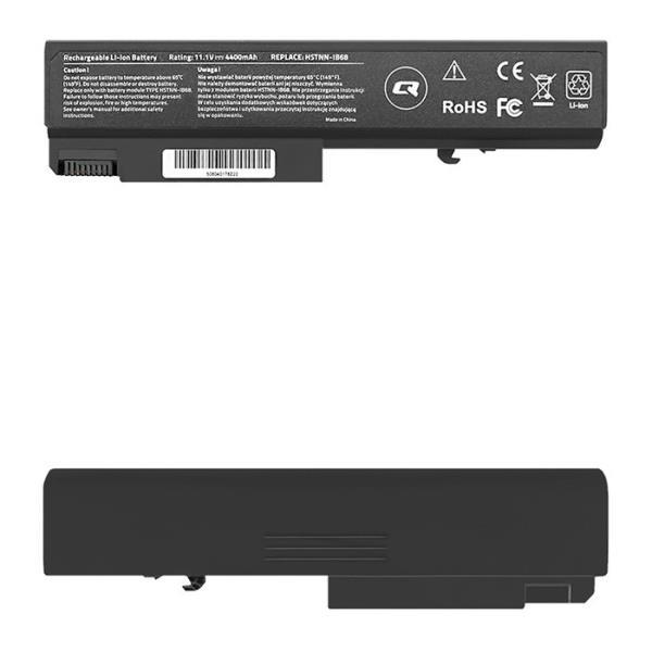 Qoltec Long Life Notebook Battery - HP EliteBook 6930p | 4400mAh | 11.1V akumulators, baterija portatīvajiem datoriem