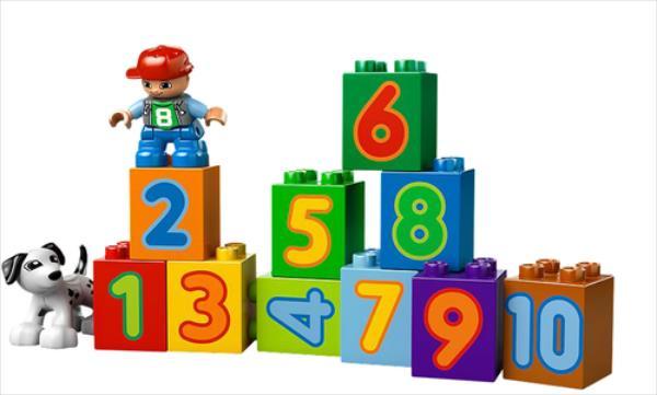 LEGO Number Train V110 10558 LEGO konstruktors