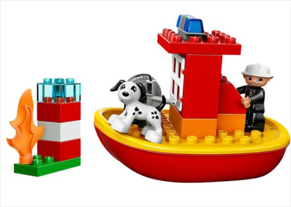 LEGO Fire Boat  10591 LEGO konstruktors
