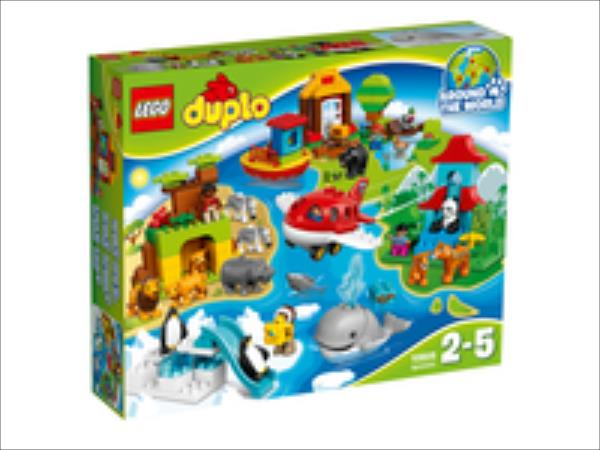 LEGO Around the World  10805 LEGO konstruktors