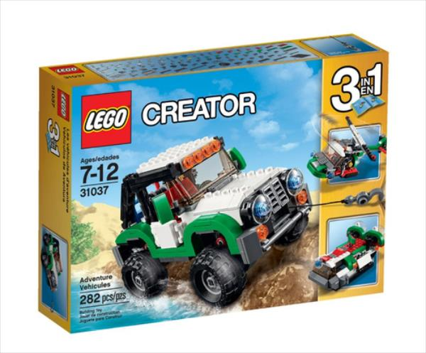 LEGO Adventure Vehicles  31037 LEGO konstruktors