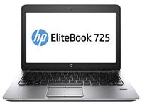 HP EliteBook 725  A10-7350B Portatīvais dators