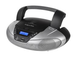 BOOMBOX CD MP3      USB RADIO FM KM3902 magnetola