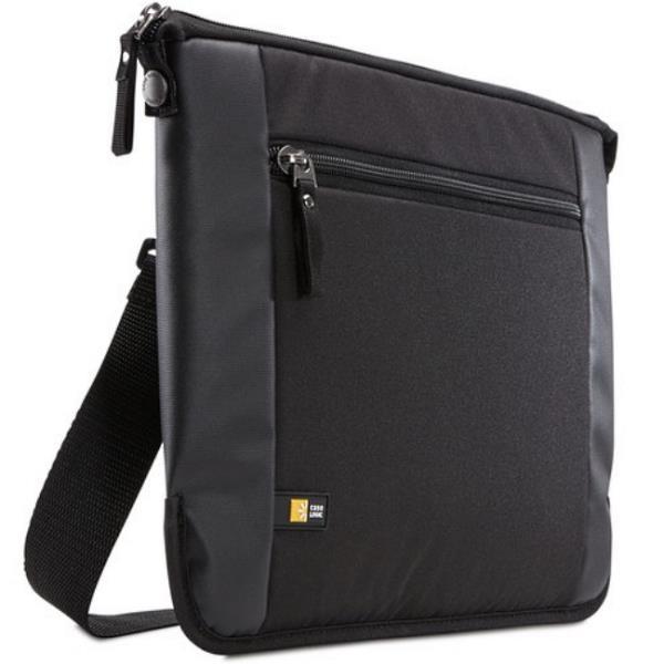 Case Logic INT115K Laptop case for 15.6'' laptop/Polyester/Black portatīvo datoru soma, apvalks