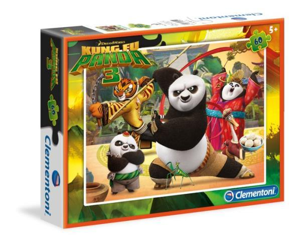 Clementoni Special Line Kung Fu Panda III 60el. - 08425 puzle, puzzle