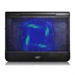 Deepcool Notebook Cooler N6000 Black portatīvā datora dzesētājs, paliknis