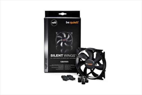 be quiet! Silent Wings 2 120mm PWM fan, 16,5 dBA dzesētājs, ventilators