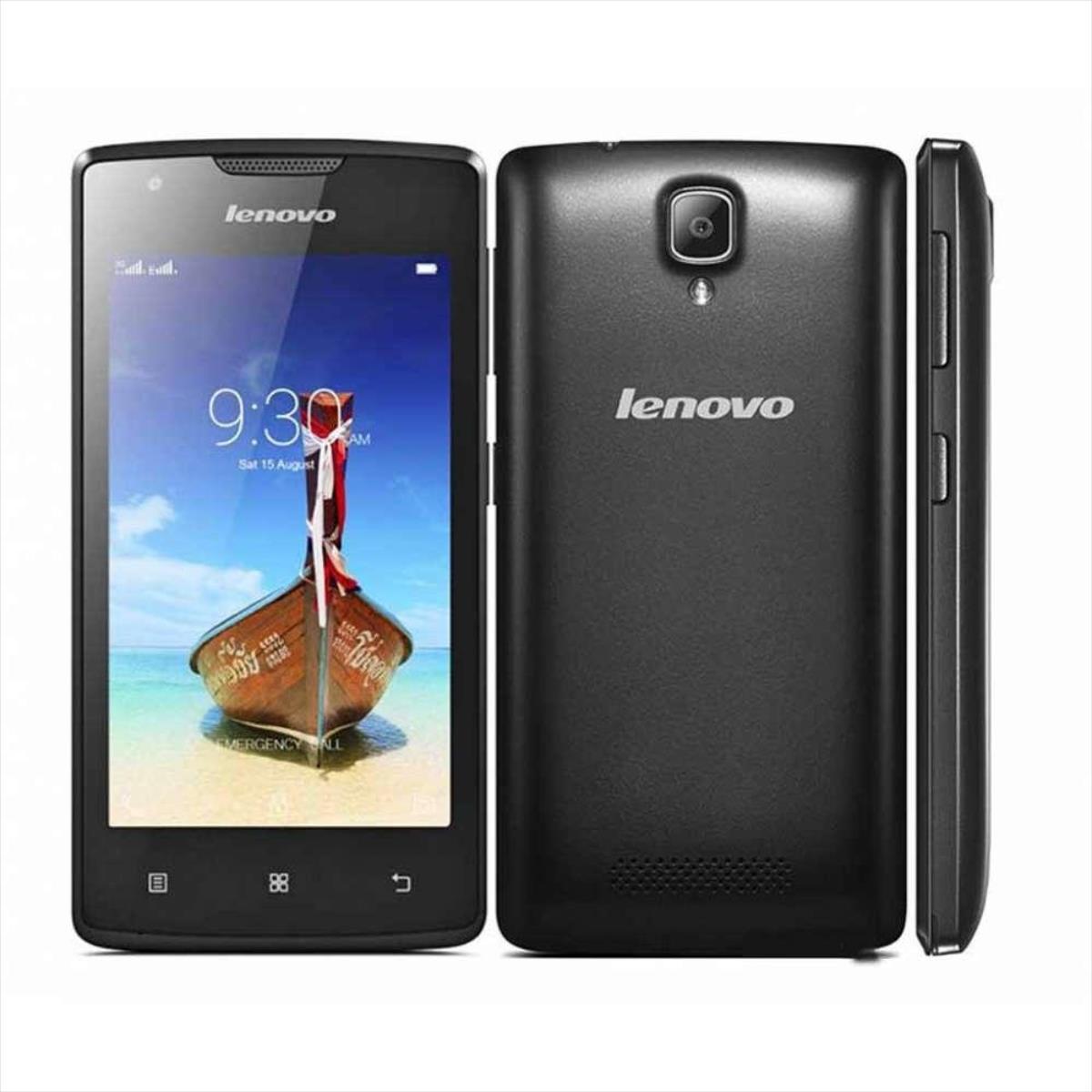 Lenovo A1000 Dual black ENG/RUS Mobilais Telefons