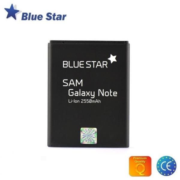 BlueStar Akumulators Samsung i9220 N7000 Galaxy Note Li-Ion 2550 mAh Analogs EB615268VU aksesuārs mobilajiem telefoniem