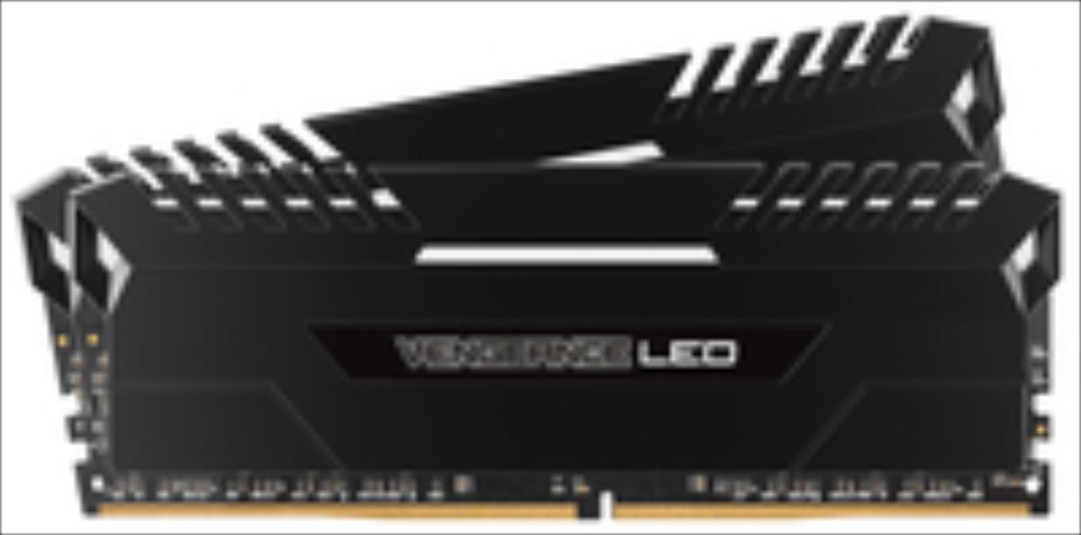 Corsair Vengeance LED 2x8GB DDR4 3000MHz C15 - White LED operatīvā atmiņa