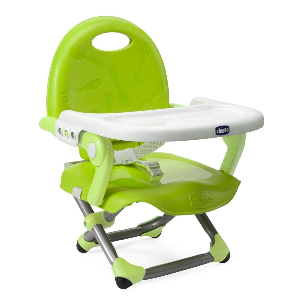 Chicco Pocket Snack Lime bērnu barošanas krēsls