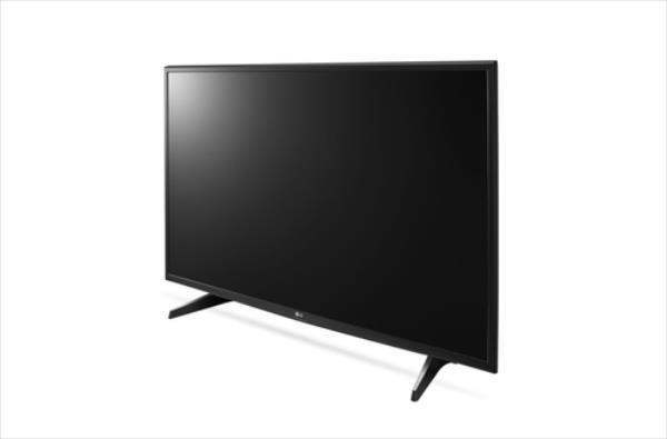 LG 49UH6107 4K Melns LED Televizors