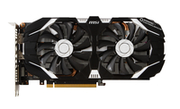 MSI GTX 1060 3GT OC GeForce GTX 1060 3GB GDDR5 (V809-2226R) video karte