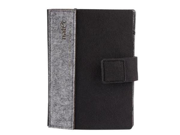 Natec Kindle case Sheep 6'' Black-Grey Elektroniskais grāmatu lasītājs