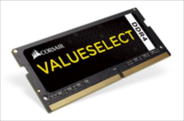 Corsair ValueSelect 4GB 2133MHz DDR4 SODIMM C15 1.2 V operatīvā atmiņa