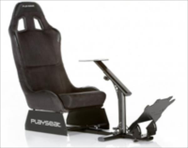Playseat Evolution Racing Chair, Alcantara - black datorkrēsls, spēļukrēsls