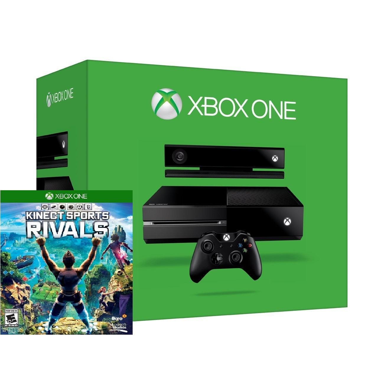 Microsoft Xbox One 1TB + KINECT sensor + SPORTS RIVALS spēļu konsole