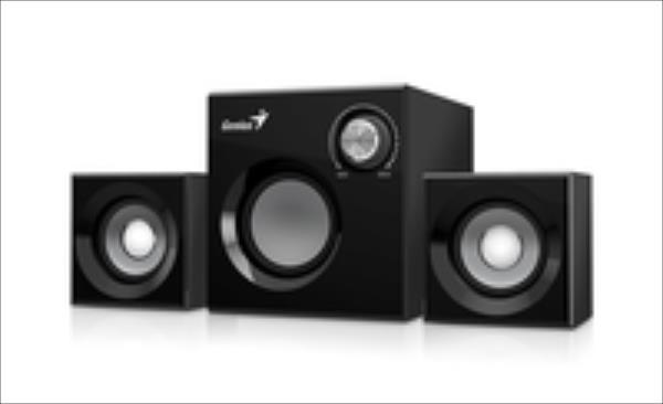 Genius Speakers SW-2.1 370, Black datoru skaļruņi