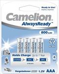 Camelion AlwaysReady Rechargeable Batteries Ni-MH AAA (R03), Baterija