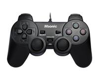 MSONIC Gamepad USB PC/PS3, Vibration function MN3329BK spēļu konsoles gampad