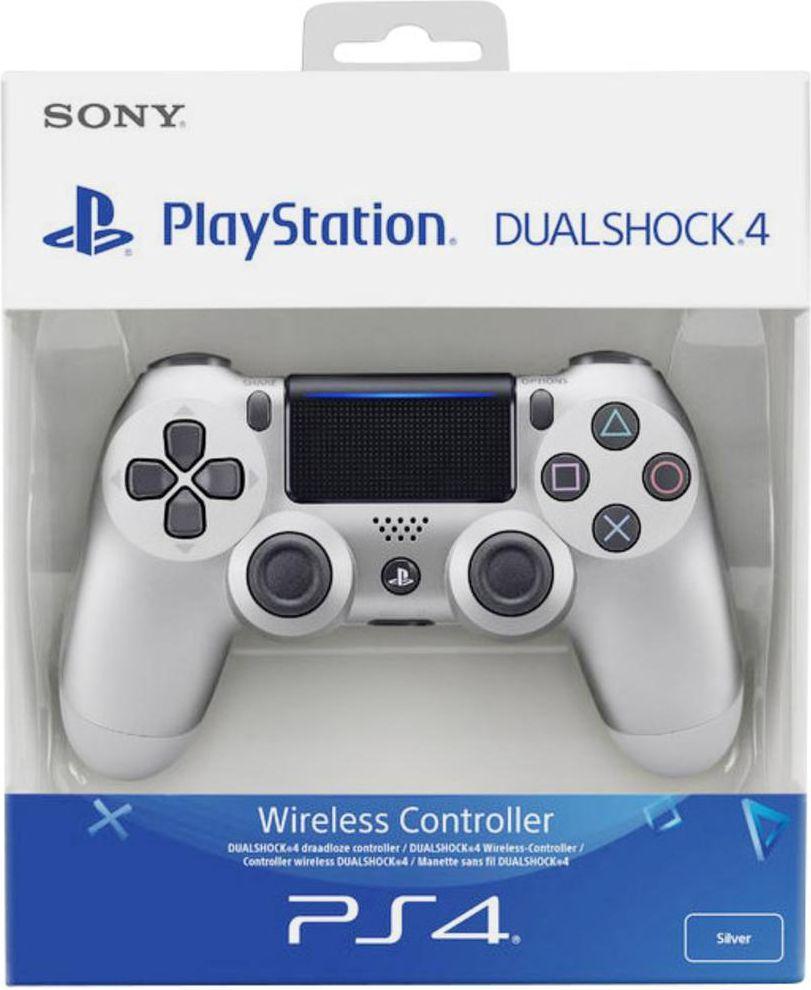 Sony Dualshock 4 Wireless Controller v2 silver (PS4) spēļu konsoles gampad
