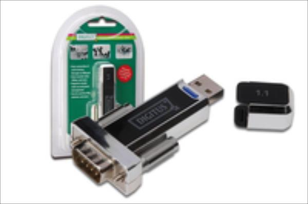 Digitus USB to serial adapter, USB 1.1 & USB 2.0 adapteris