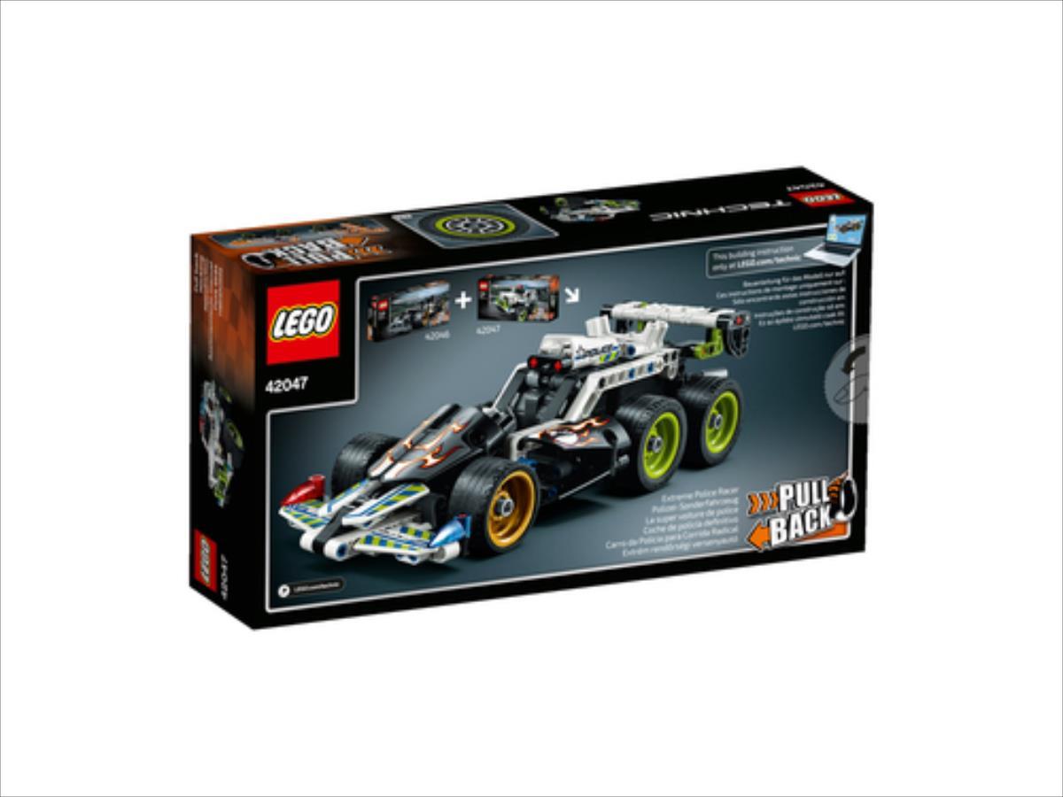 LEGO Technic Police Interceptor 42047 LEGO konstruktors