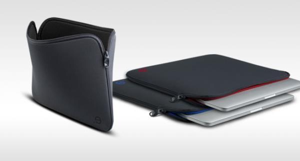 LA robe GRAPHITE MBP Retina 13 (Grey/Bordeaux) portatīvo datoru soma, apvalks