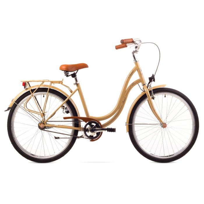ROMET ANGEL 26 - 3 CITY 17-M R26 KAPUČĪNO Pilsētas velosipēds