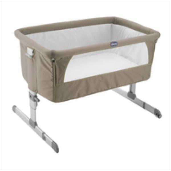 Chicco ceļojumu gultiņa Next 2 Me Dove Grey bērnu ratiņi
