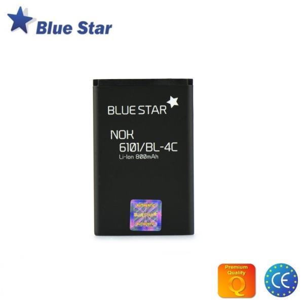BlueStar Akumulators Nokia X2 6300 Li-Ion 800 mAh Analogs BL-4C aksesuārs mobilajiem telefoniem